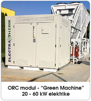ORC module Green Machine